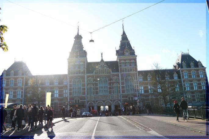 museumplein in amsterdam Netherlands