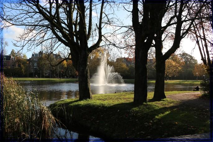 Voldelpark in Amsterdam Netherlands