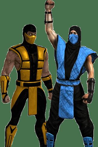 Scorpion and Sub Zero